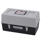 SHUTER Tools Storage Box [TB-104] - Grey/Black - Box Perkakas